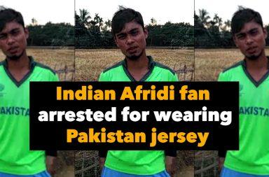 Afridi fan