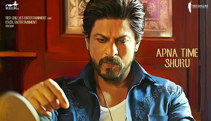 Shah Rukh Khan Raees trailer Twitter photo