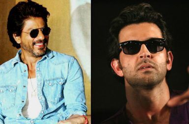 Shah Rukh Khan Raees vs Hrithik Roshan Kaabil Instagram photos for InUth dot com