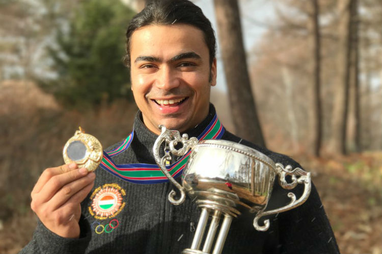 Shiva Keshavan, Asian Luge Championship