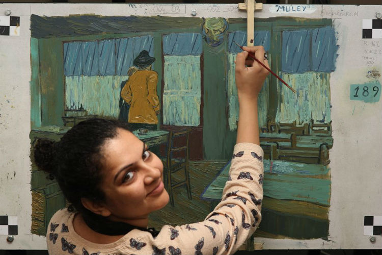 Loving Vincent Van Gogh Shuchi Muley