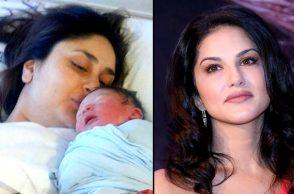 Sunny Leone Kareena Kapoor Khan baby