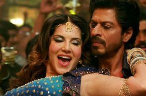 Sunny Leone Shah Rukh Khan YouTube screen grab