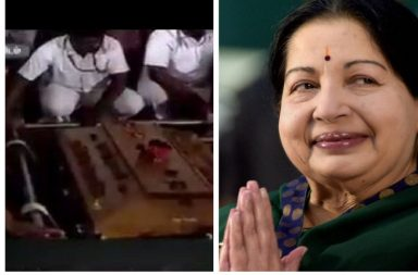 jayalalithaa buried