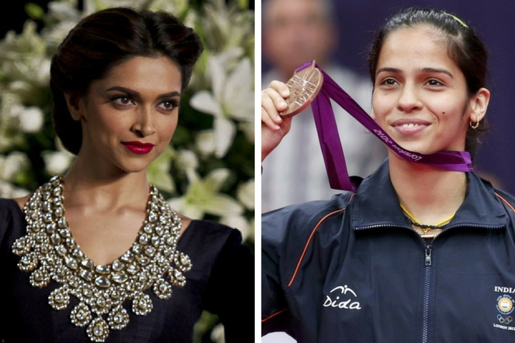 Deepika Padukone had expressed the wish to portray Saina Nehwal.