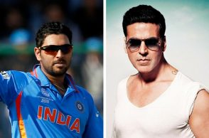 Yuvraj Singh wants Akshay Kumar to play him in his biopic.