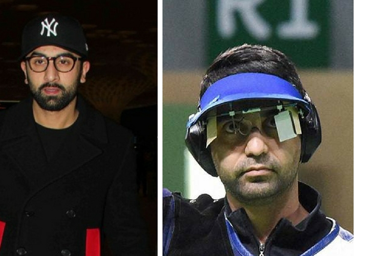 Ranbir Kapoor seems to be the perfect choice to essay the role of Olympic medallist Abhinav Bindra.
