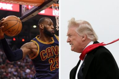 basketball, LeBron James, NBA, Cleveland Cavaliers, Donald Trump, Hillary Clinton