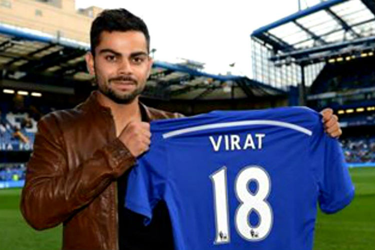 Chelsea Football Club, Virat Kohli