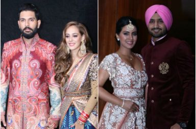 Yuvraj Singh reception, Hazel Keech reception