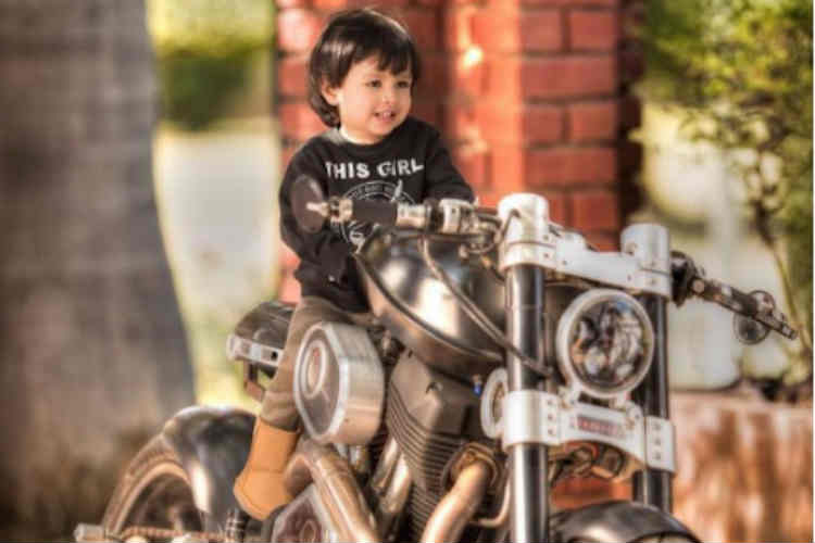 MS Dhoni's daughter Ziva is riding a bike and the internet is loving it
