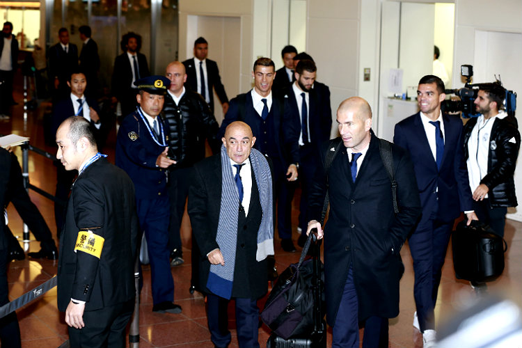 FIFA Club World Cup, Real Madrid, football, Cristiano Ronaldo, Zinedine Zidane, Japan