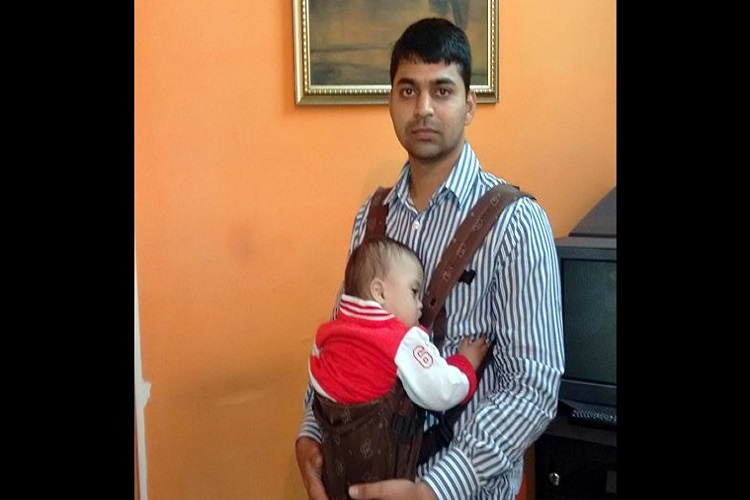 Aditya Tiwari with the kid for InUth.com