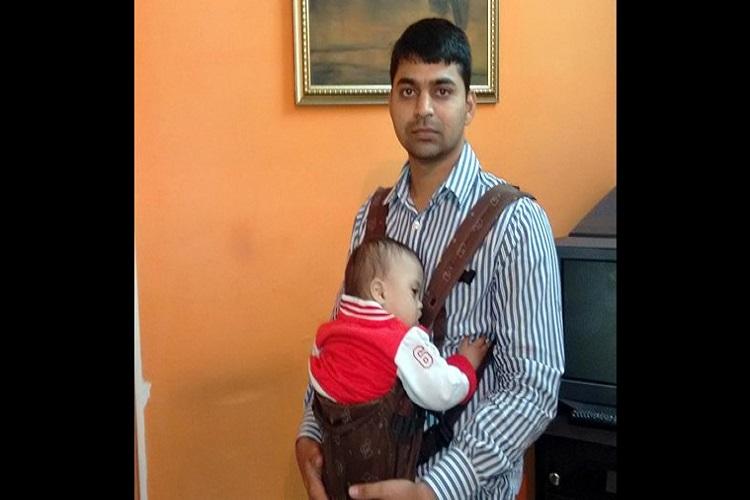 Aditya Tiwari with the kid for InUth.com