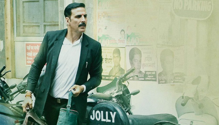 Akshay Kumar in Jolly LLB2|Twitter photo for InUth.com