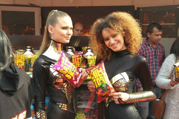 "Super Light American Popcorn or ""SLAP"". Comic Cons now also exhibit food brands"