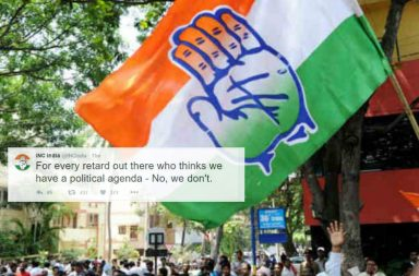 Congress party's Twitter account was hacked early on Thursday morning