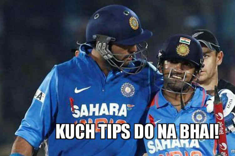 Gautam Gambhir offers advice to Yuvraj Singh on 'maritalbouncers'