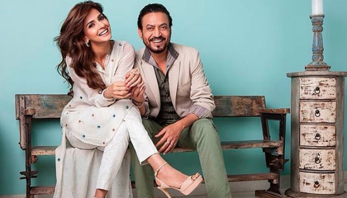 Irrfan Khan, Saba Qamar in Hindi Medium|Instagram photo for InUth.com