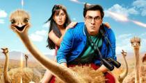 Jagga Jasoos poster: Ranbir Kapoor-Katrina Kaif look cute but the ostrich iscuter
