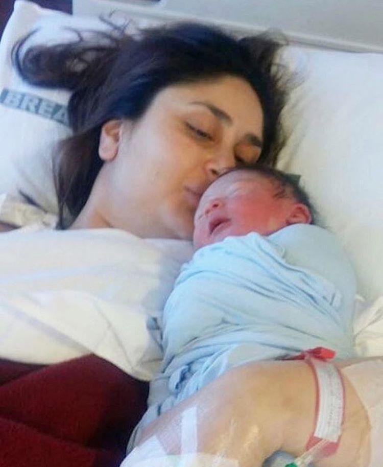 Kareena Kapoor Khan with son Taimur Instagram Photo for InUth.com