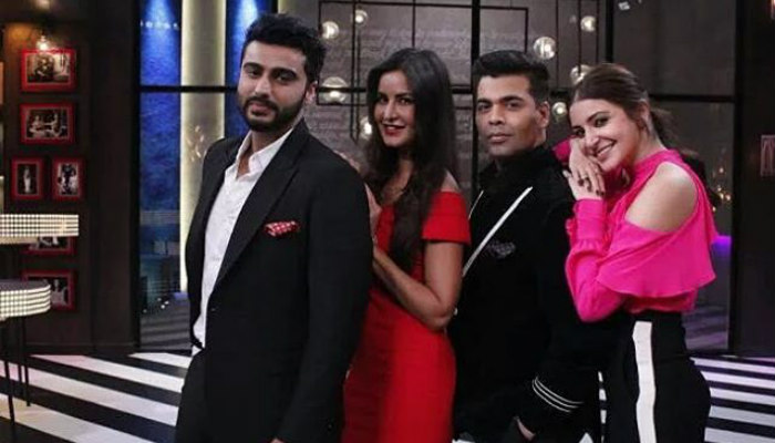 Anushka Sharma, Katrina Kaif on Koffee with Karan|Instagram photo for InUth.com