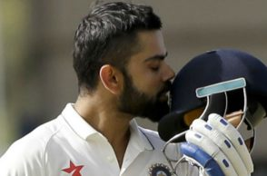Virat Kohli scored the third Test double ton in 2016. (Photo: AP)