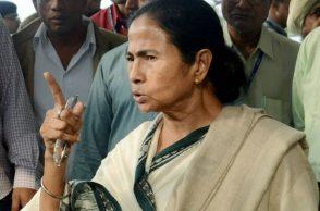 West Bengal Chief Minister Mamata Banerjee addresses the media (PTI)