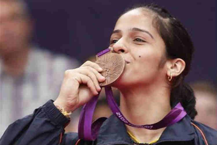 Saina Nehwal won the bronze medal at the 2012 London Olympics. (Photo: Reuters)