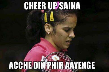 Saina Nehwal, Meme