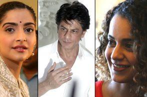 Sonam Kapoor, Shah Rukh Khan and Kangana Ranaut