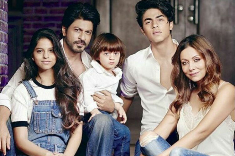 Isn't Shah Rukh Khan's recent family picture too gorgeous to be true?