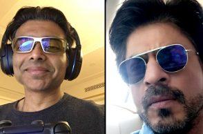 Shah Rukh Khan (Courtesy: Twitter/ Shah Rukh Khan) and Uday Chopra (Courtesy: Twitter/Uday Chopra)