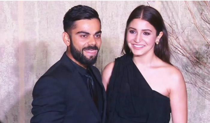 Virat Kohli and Anushka Sharma (Courtesy: Twitter/Anushka Addict)