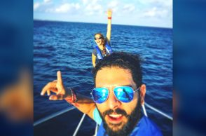 Yuvraj Singh and Hazel Keech honeymoon