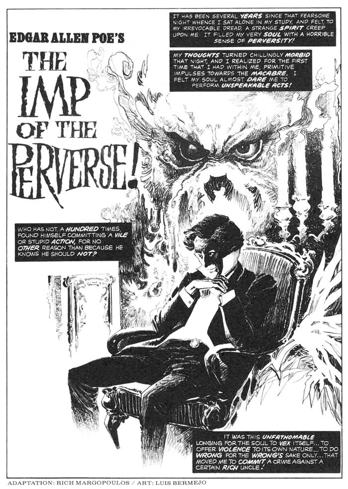 the gothic perspective in the imp of the perverse and the importance of the single effect of a prose Critics generally agree that the cask of amontillado exemplifies poe's theory of short fiction, in which every narrative detail of a successful story contributes to a single intense effect.
