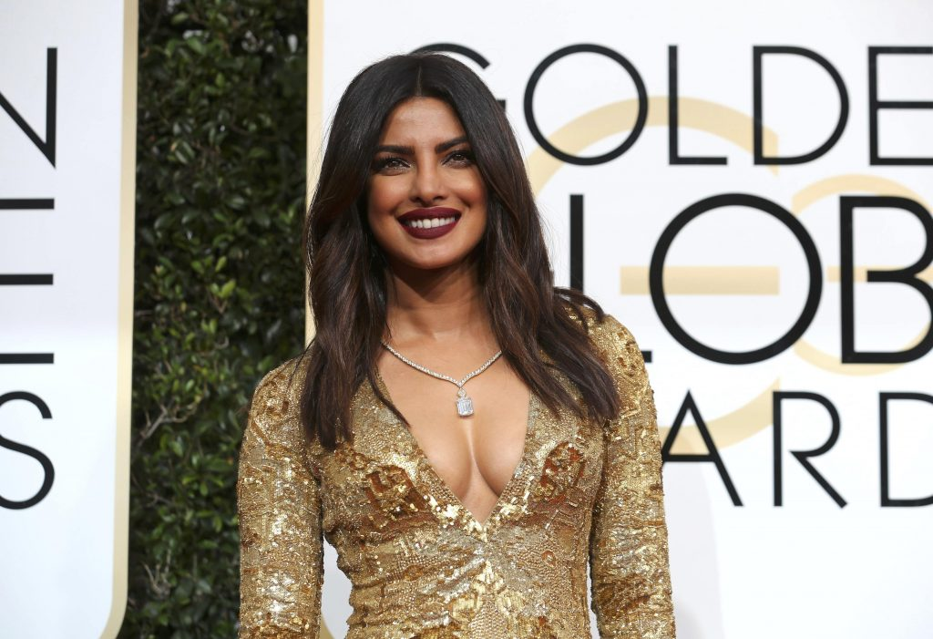 Actress Priyanka Chopra arrives at the 74th Annual Golden Globe Awards in Beverly Hills, California, U.S., January 8, 2017. REUTERS/Mike Blake