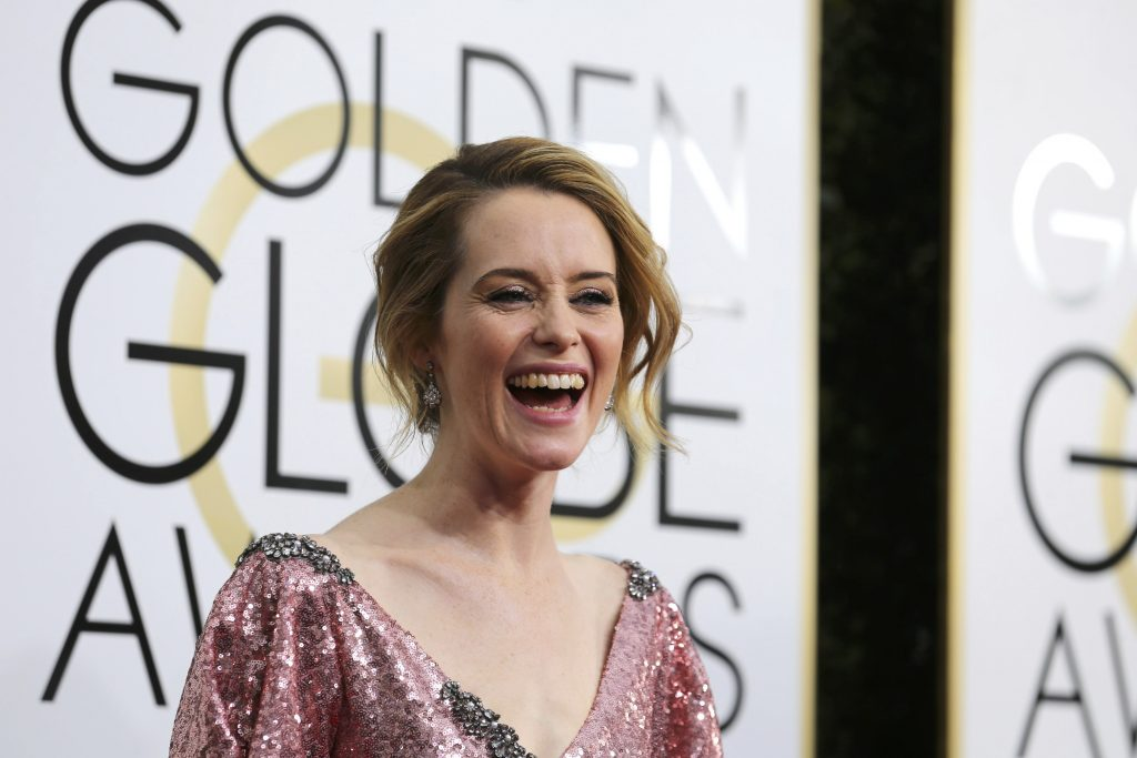 Actress Claire Foy arrives at the 74th Annual Golden Globe Awards in Beverly Hills, California, U.S., January 8, 2017. REUTERS/Mike Blake