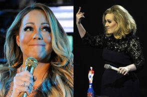 Adele Mariah Carey