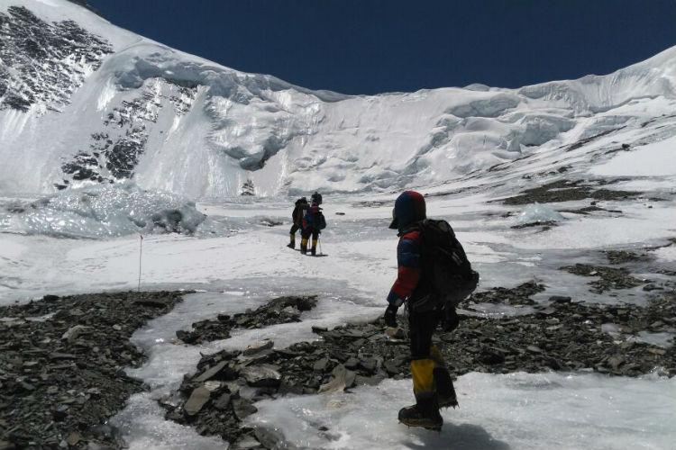 Ashok Munne, Mera Peak