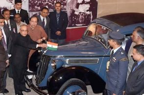 Netaji Subhas Chandra Bose's Restored Audi Car