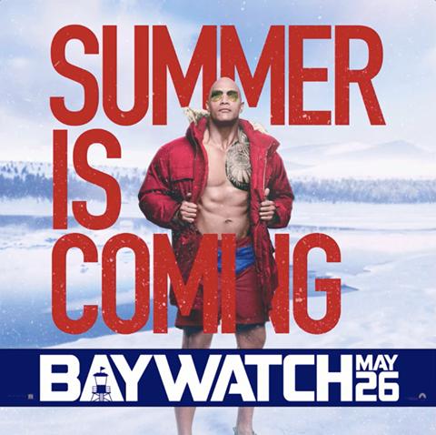 Baywatch Film Poster