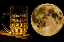 How about beer brewed on moon?