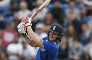Ben Stokes's quickfire 62 helped England post a mammoth total against India. (Photo: Reuters)