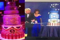 Donald trump's team asked a bakery to create a replica of Obama's inaugural cake