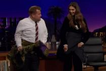 Wanna learn lungi dance? Watch Deepika Padukone teach it to British host James Corden