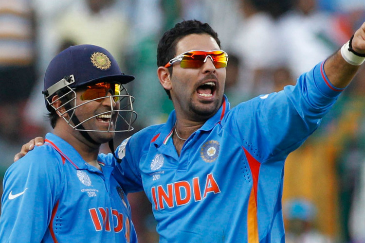 Watch: Yuvraj Singh-MS Dhoni rekindling old bonhomie is the best thing for Indiancricket