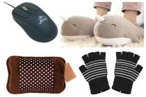 From USB heated slippers to warm mouse, here are 10 gadgets to keep you warm thiswinter