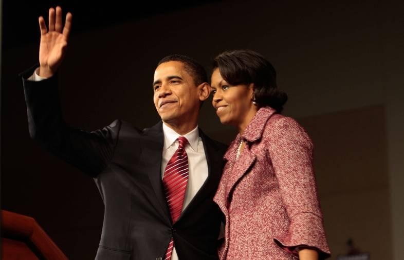 Barack Obama Holds South Carolina Primary Rally