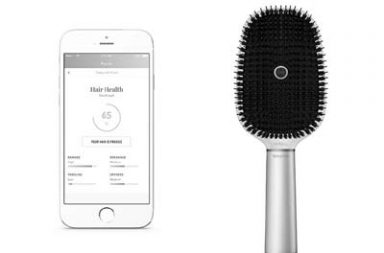 smart hairbrush